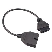 Переходник с 12 Pin на 16Pin OBD2 разъем для GM