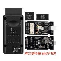 Opel OP-COM v1.99 чип FTDI, pic18f458